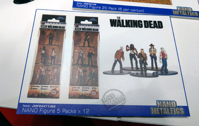 Toy Fair 2019 JADA The Walking Dead Nano Metalfigs