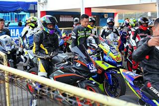Yamaha Sunday Race 2018 : Diramaikan 215 Starter, All New R15 Idemitsu Junior Pro Pangkas Waktu Hingga 6 detik