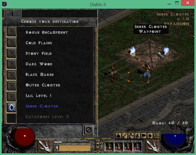 Tristram Destinations | Diablo 2 Screenshot