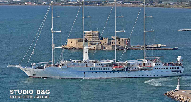 Ναύπλιο: Όταν φεύγουν τα πλοία (βίντεο)