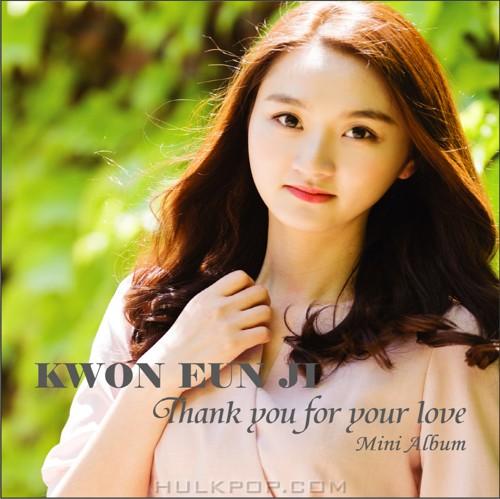 KWON EUN JI – Thank You For Your Love – Single