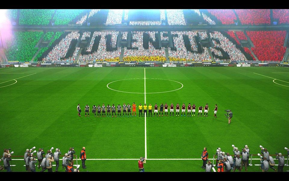 PES 2017 Mosaic Stadium