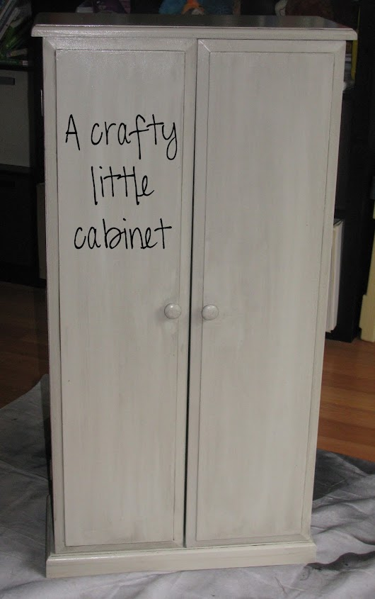 Crafty little cabinet