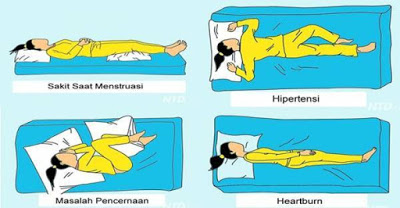 """takkan bantal di antara kasur dan penggalan b Setelah Dicoba, Benar-Benar Ampuh! """"9 Posisi Tidur"""" Ini Bisa Membantu """"Mengurangi Rasa Sakit"""" di """"Tubuhmu""""!"""