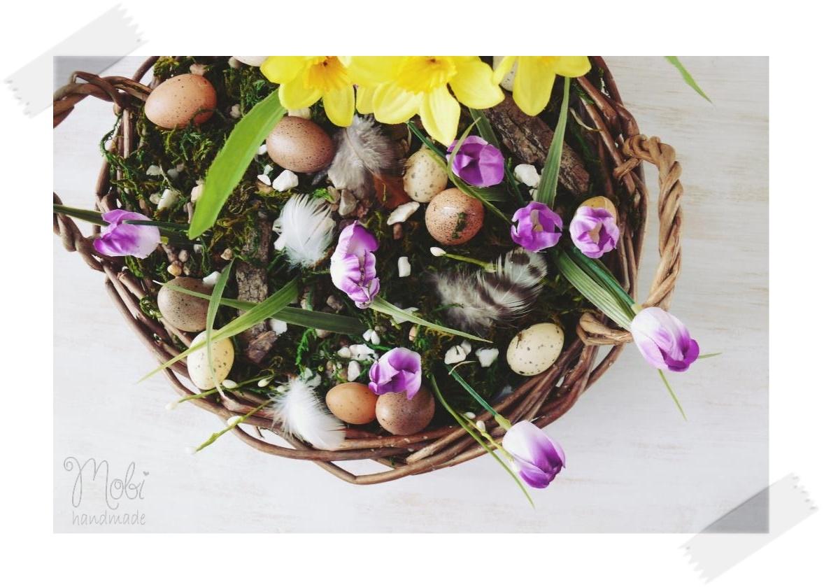 Stroik Wielkanocny Na Cmentarz Mobi Handmade