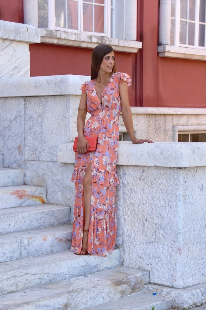 Must have estate 2017: il maxi dress a fiori