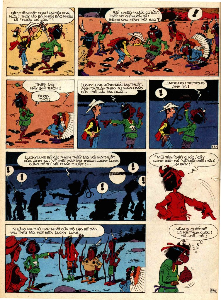 Lucky Luke tap 1 - ban tay nham trang 37