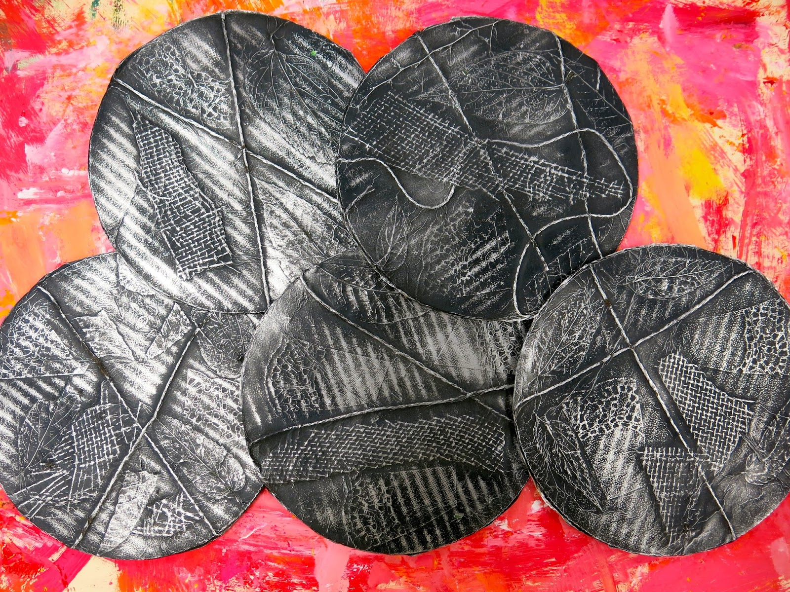Cassie Stephens In The Art Room Texture Relief With