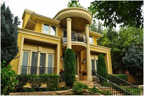 Desain Rumah Mediterania Klasik nan Modern