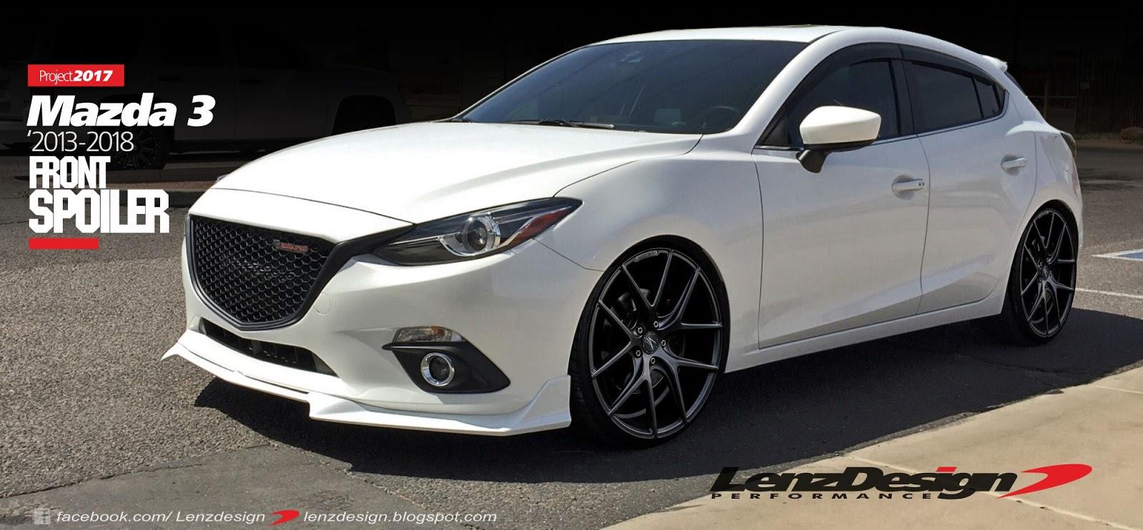 Mazda 3 BM Axela Hatchback Body Kit & Tuning Lenzdesign ...
