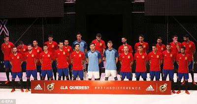Skuad Spanyol EURO 2016