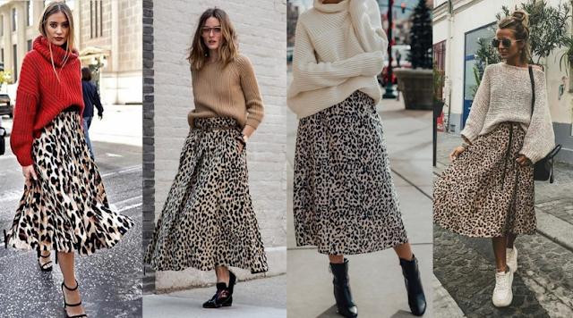 Básico Fashionista: Saia de Oncinha