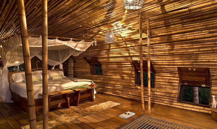 Una paradis aca y sostenible casa cil ndrica de bamb - Casas con luz natural ...