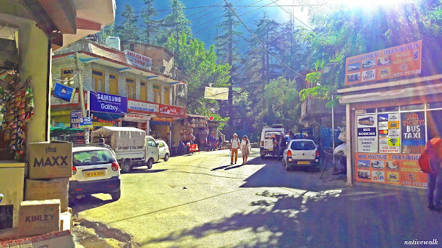 Kasol bus stand