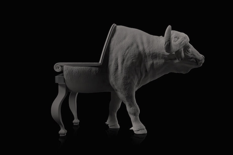 17-Buffalo-Maximo-Riera-Animal-Shaped-Furniture-Chairs-and-Sofas-www-designstack-co