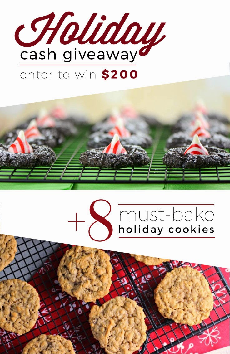 8 Must-Bake Holiday Cookies | Renee's Kitchen Adventures  #Giveaway
