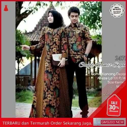 GMS203 FTKHY203B58 Batik Couple Notoarto Batik Ipnu Dropship SK0823029011