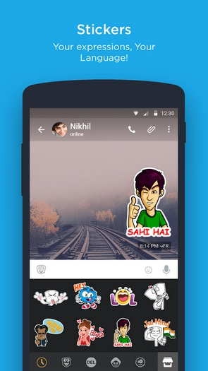 Hike messenger 4.2.0.82 APK for Android