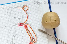 Мастер-класс Ольги Гончаровой: Выкройка мишки тедди с нуля / How to make a teddy bear pattern from scratch Olga Goncgarova