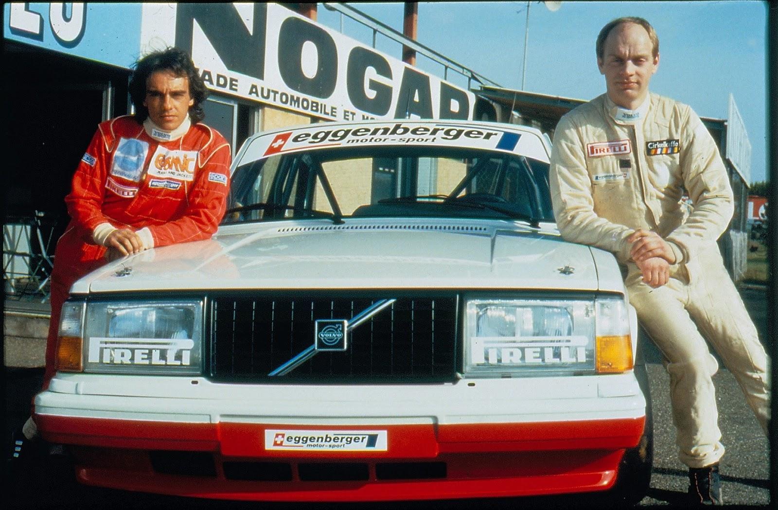 VOLVO VOLVO%2B240%2BTURBO%2BWINS%2BETCC%2B1985 2 Η Volvo στο WTCC με το S60 Polestar για να γιορτάσει το ένδοξο παρελθόν του Volvo 240 Turbo