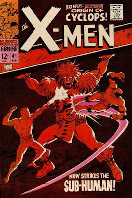 X-Men #41, the Sub-Human