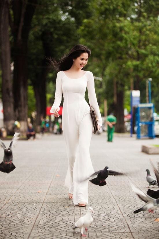 Vietnamese queen of lingerie model Ngoc Trinh in