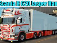 Mod Truck SCANIA JESPER HANSEN EDITION + TRAILER ETS2