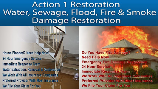 Action 1 Restoration - Water & Fire Damage Tips And Assistance