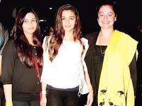 Alia Bhatt dengan Shaheen dan Pooja