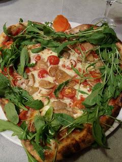 Grazie für die Pizza mit Amore <3