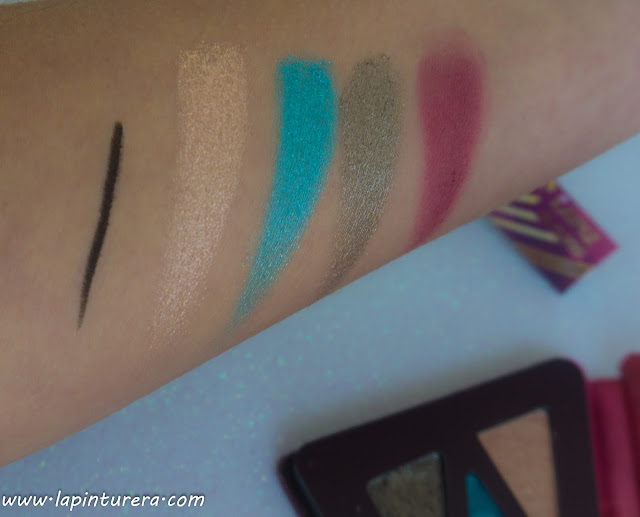 swatches paleta luna