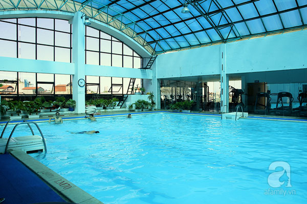 Tiện ích bể bơi bốn mùa