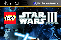 Save Game 100% LEGO Star Wars III The Clone Wars PSP