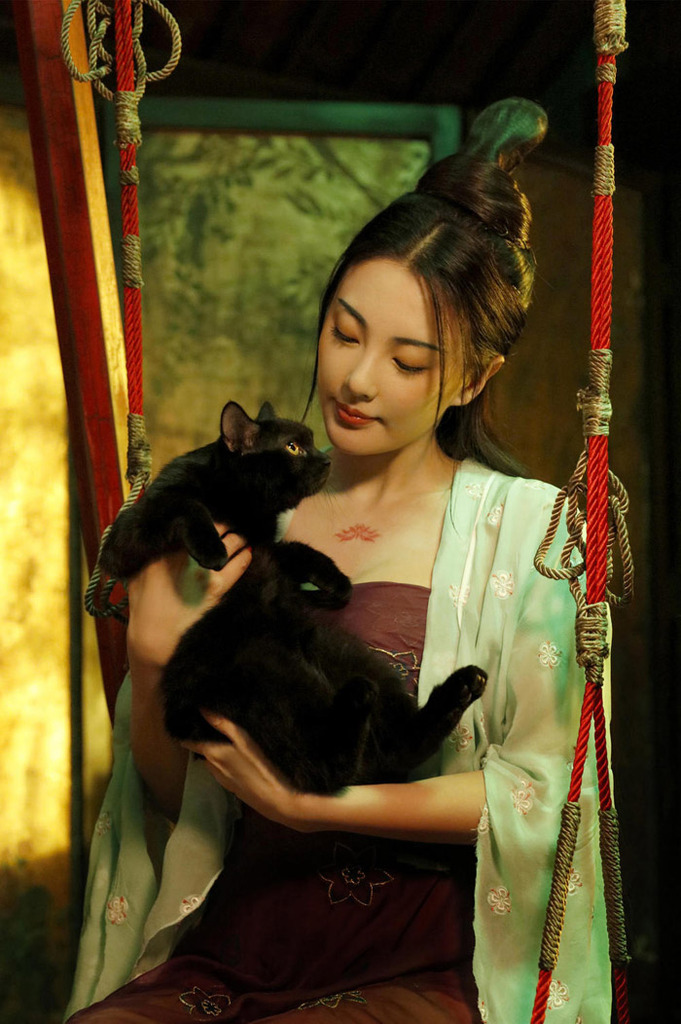 Legend of the Demon Cat Chinese movie
