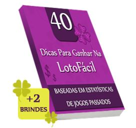 E-book 40 Dicas Para Ganhar na LotoFácil funciona