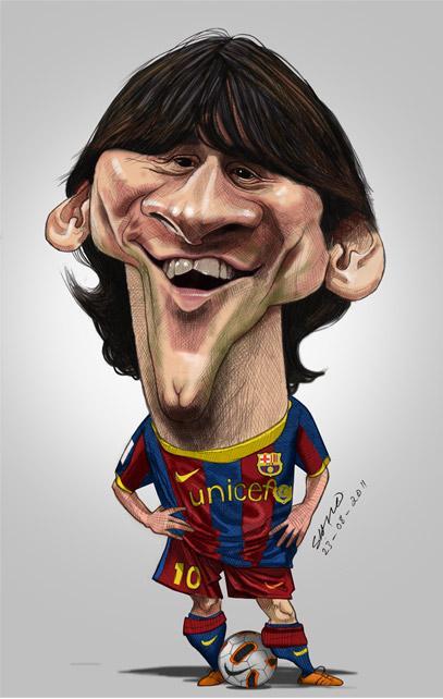 """""""Leo Messi"""" por Shijo Varghese"""