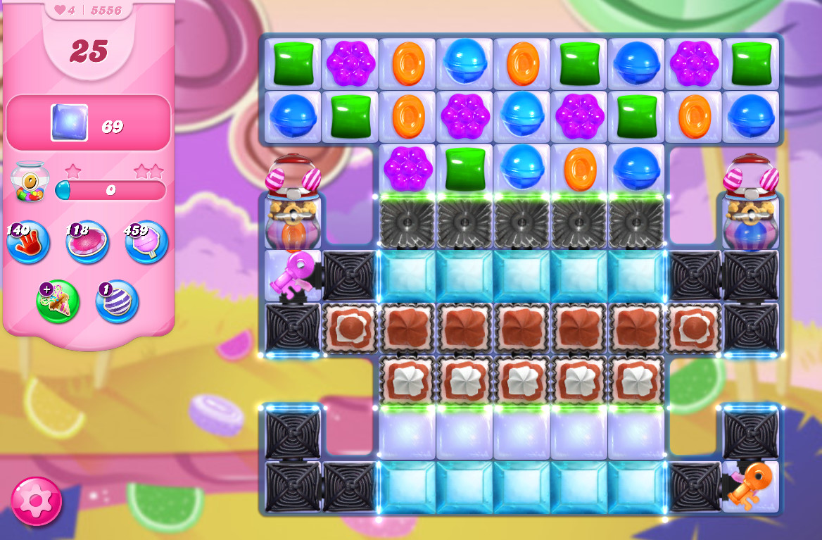 Candy Crush Saga level 5556