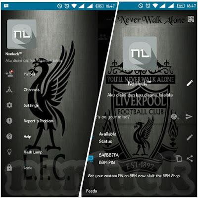 BBM MOD Terbaru BBM Mod Liverpool New Style Versi 2.10.0.31 Apk