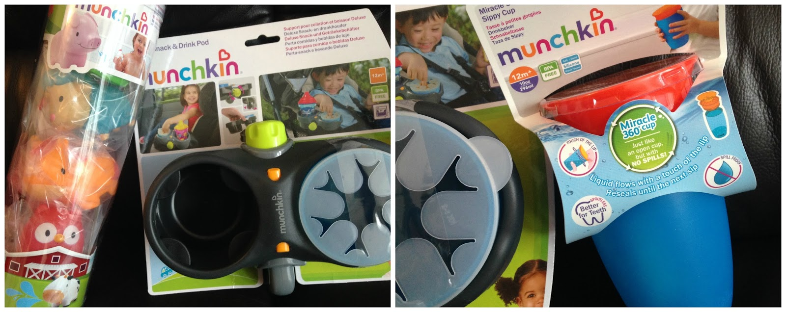 Munchkin toddler products