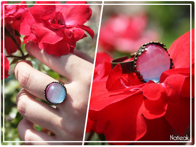 bague vintage ajustable Happiness boutique