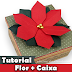 Como fazer Flor de Natal   Poinsettia   Scrap decor   Tutorial   Origami
