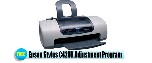 Epson Stylus C42UX Adjustment Program