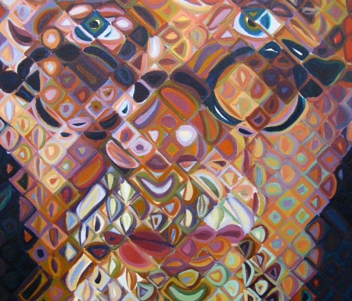 Critiquing The Work Of Chuck Close