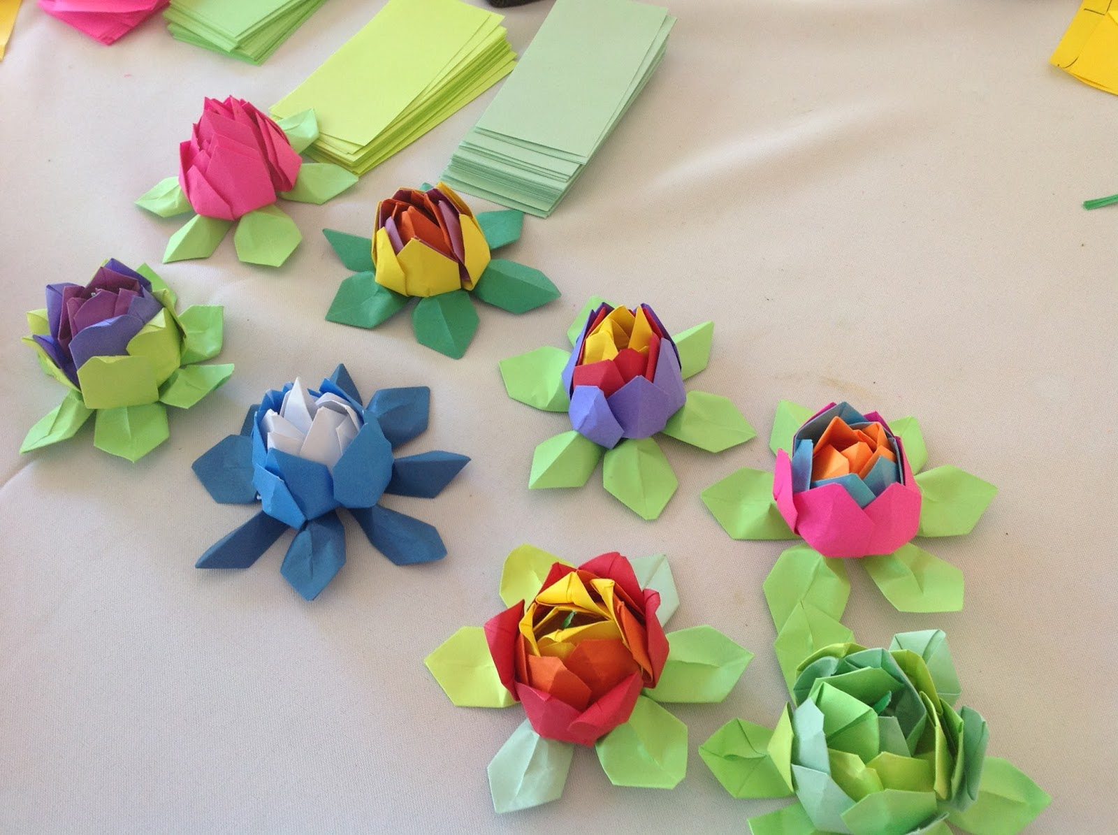 Khandroling Paper Cooperative Mindfulness Origami Program At