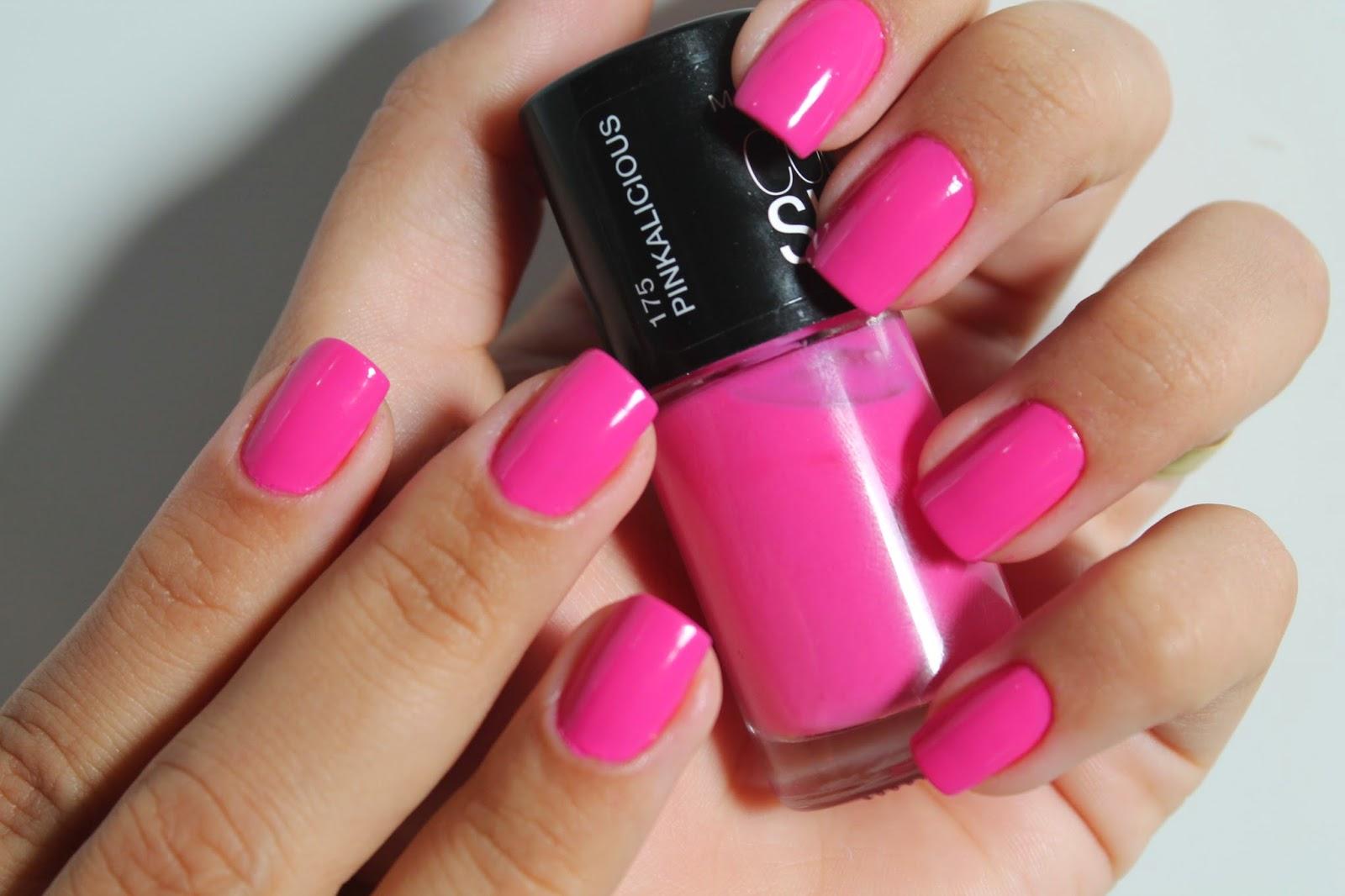 esmalte rosa lindos
