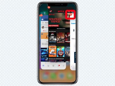 Cách Đóng Ứng dụng trên iPhone X