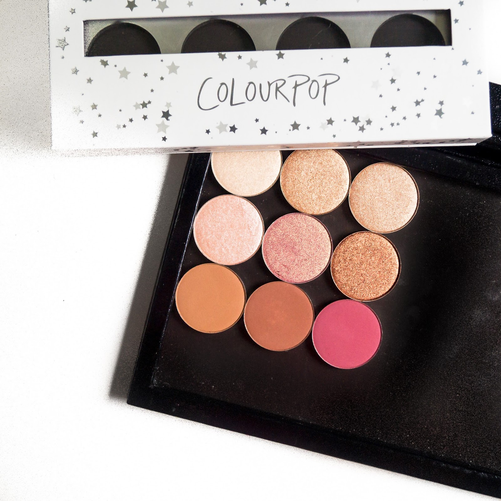 Colourpop Pressed Eyeshadow Review | Biscuits and Makeup