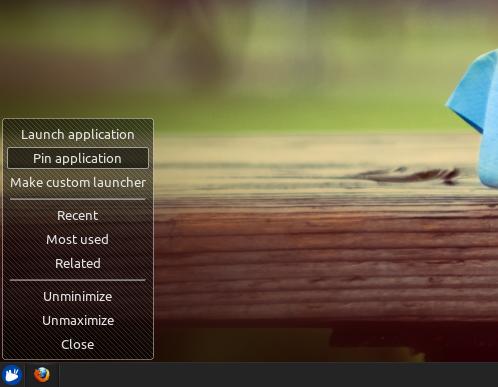 Ubuntu Buzz !: How To Install DockbarX Panel Plugin for