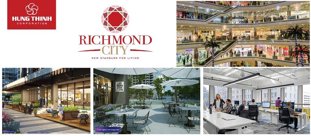 Tiện ích Richmond City Nguyễn Xí Bình Thạnh