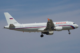 Airbus A320 of Rossiya Airlines